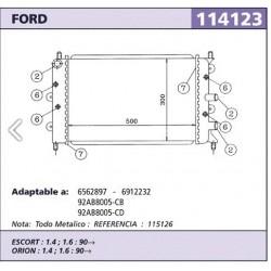Radiador Refrigeracion Ford...