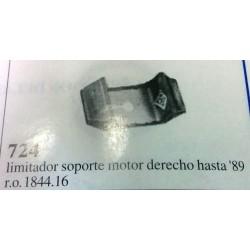Limitador soporte motor...
