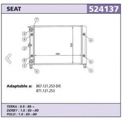 Radiador refrigeracion Seat...