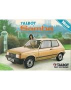 Venta online de recambios para Talbot Samba en arfiguerola.com